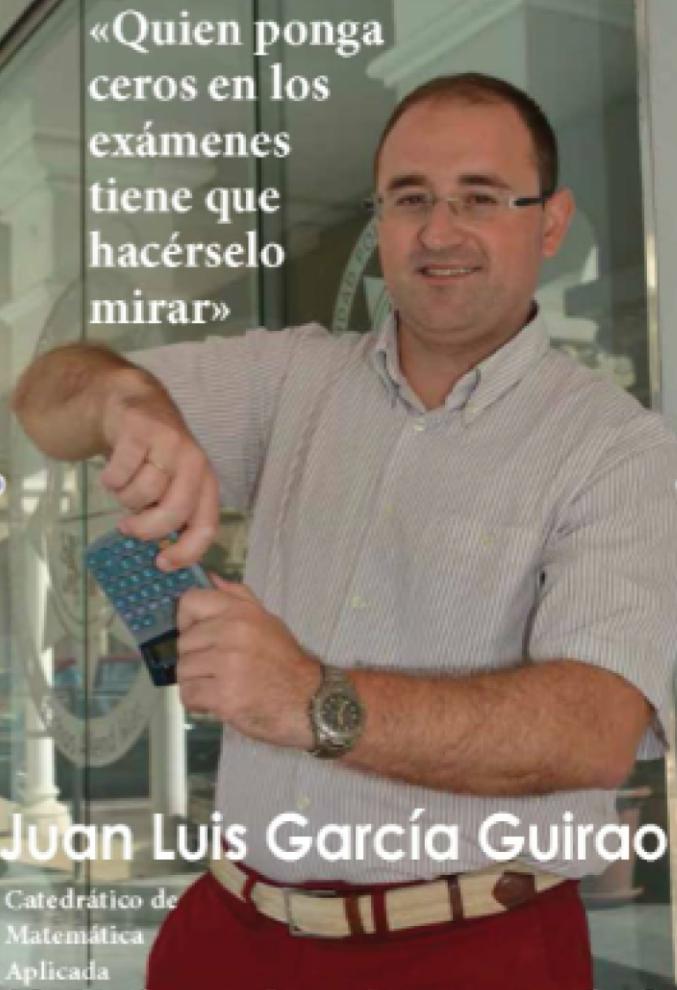 Juan Luis García Guirao entrevistado en Boletín UPCT