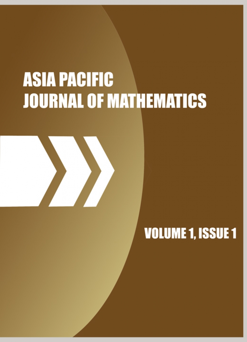 Juan Luis García Guirao elegido miembro del Comité Editorial de la revista Asia Pacific Journal of Mathematics