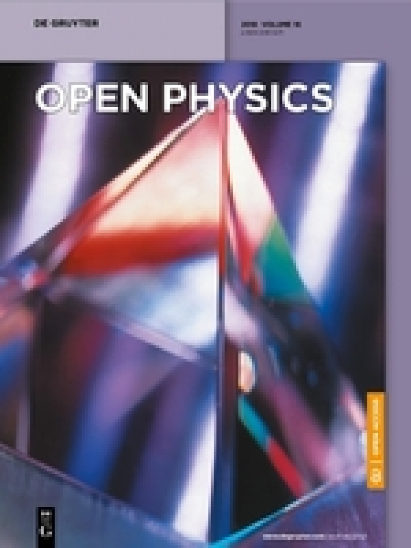 Juan L.G. Guirao joins the Editorial Board of Open Physics (JCR 2017 impact factor: 0.755)