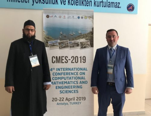 Professor Guirao Keynote Speaker at CMES-2019 conference Antalya (Turkey)