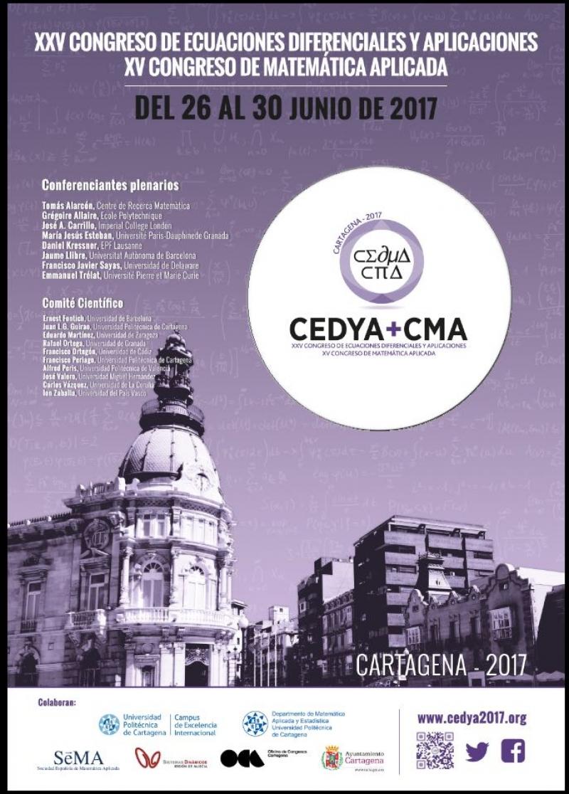 Juan Luis García Guirao, Presidente del Comité Organizador de CEDYA + CMA 2017, CARTAGENA (www.cedya2017.org)